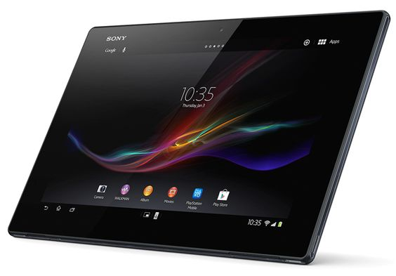 Sony Xperia Tablet Z Goes Up For Pre-order In The US. The Sony Xperia Tablet Z features a 10.1 inch display with a resolution of 1920 x 1200 pixels, there is also a quad core 1.5GHz processor and 2GB of RAM, and it comes with Android 4.1 Jelly Bean. | Geeky Gadgets
