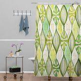 Found it at AllModern - Cori Dantini Green Shower Curtain
