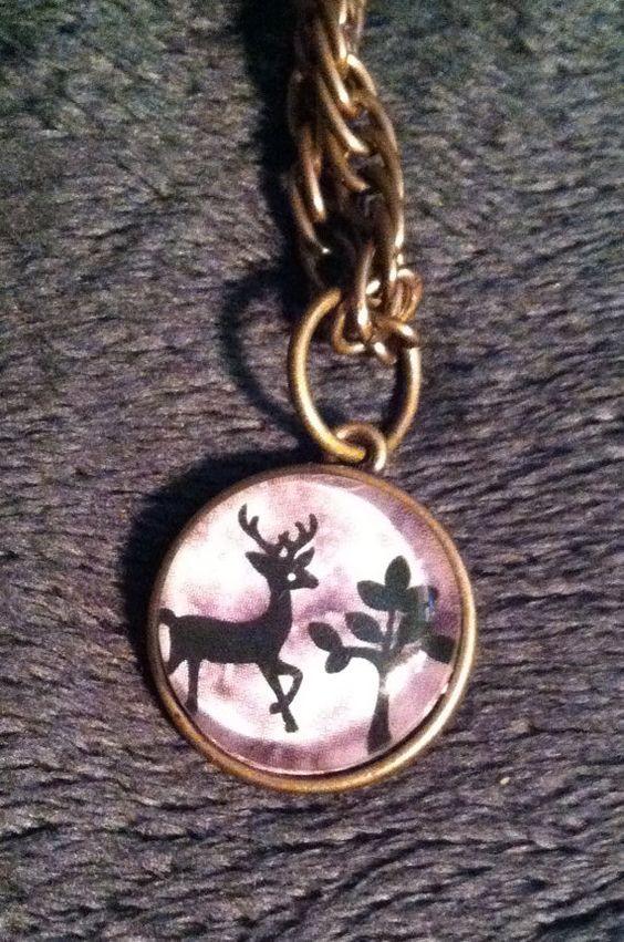 Handmade Deer Necklace