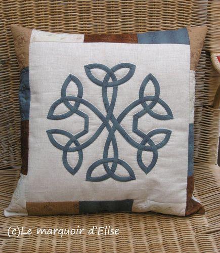 Celtic cushion