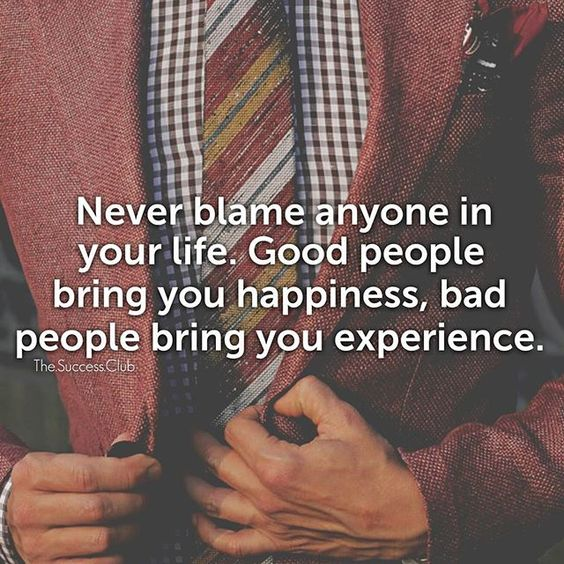 What do experience bring out in people ?