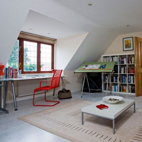 attic office. someday. (shelterness)