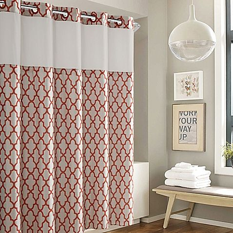 Hookless Monaco Shower Curtain Curtains Shower Curtain Bed