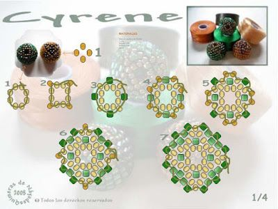 Bead Pattern-book: Cyrene by Nayade