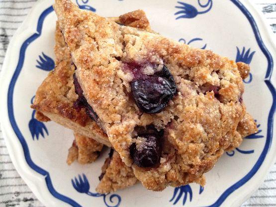 Blueberry scones (panecillos con arándanos)