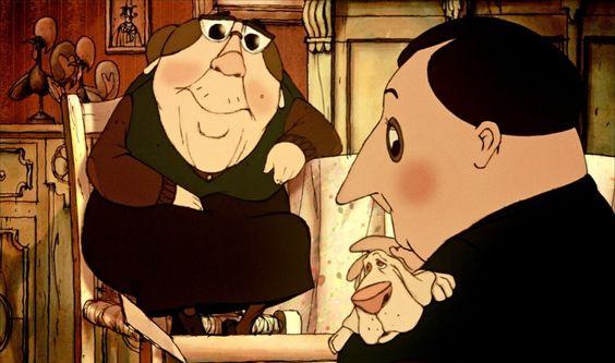 Les Triplettes de Belleville. 2003. Sylvain Chomet. #chomet #lestriplettesdebelleville #appuntamentoabelleville