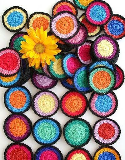 Como tejer en redondo a crochet