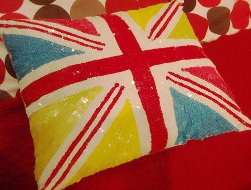 union jack pillow!