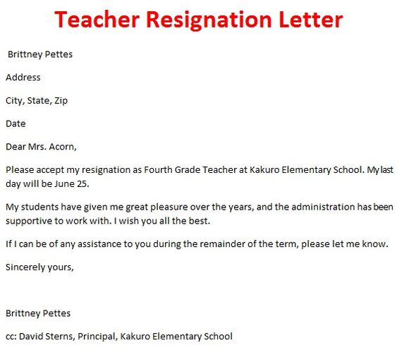 Professional Resignation Letter To Employee GoogleSuche  Retirement Letter Template