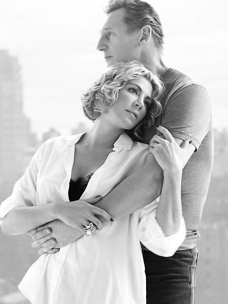 Natasha Richardson with Husband, Liam Neeson.