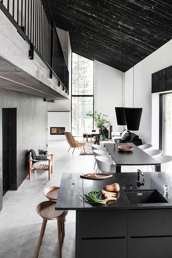 Diferentes ideias para aproveitar o espaço do pé-direito duplo. Confira no link! (Foto: Divulgação) #decor #decoration #decoração #decoración #casavogue
