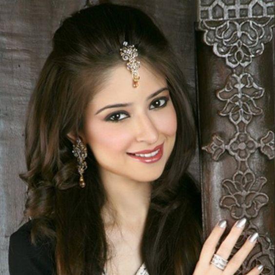 hairstyles girls with saree pretty indian 26067walljpeg