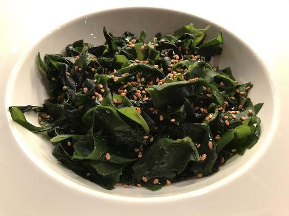 https://flic.kr/p/Pq4sWL | Ensalada de alga wakame | Alga wakame. koketo.es/alga-wakame @chefkoketo