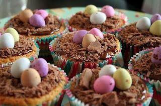 Vitrine Glamour: Cupcakes de Páscoa.