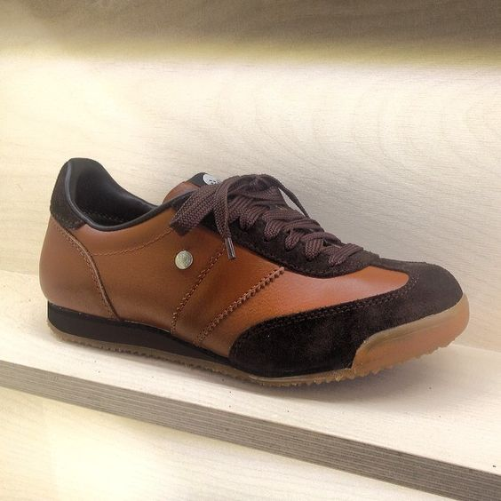 Diamond Dog. #botas66 #classic #diamonddog #brown #leathershoes #sneakers #czechfashion #elegant #followtheyellow by botas66
