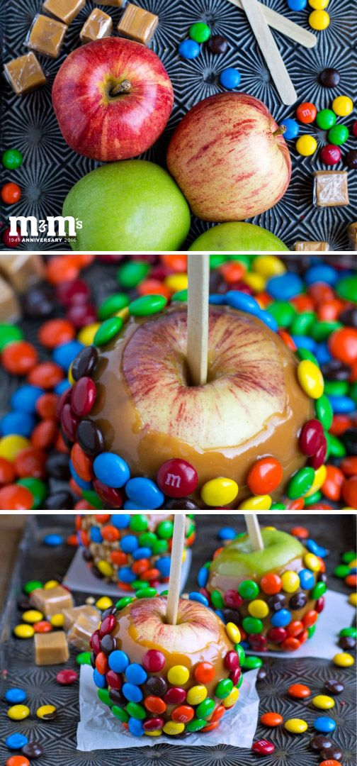 Everyone loves caramel apples. But, when you take them to the next level by making these Homemade M&M Caramel Apples instead—you'll have a new go-to sweet treat for celebrating fall! Grab all of your ingredients at Kroger and let's get to this new twist on an old fall favorite!