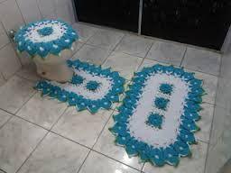 Resultado de imagem para tapetes de banheiro de flor