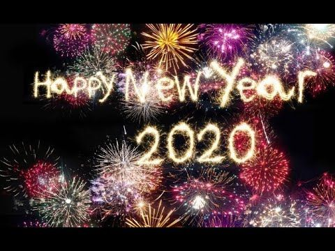 Happy New Year 2020 Countdown Video Happy New Year Wishes Happy New Year Whatsapp Status Newyear Youtube Cartes Joyeux Noel Bonne Annee