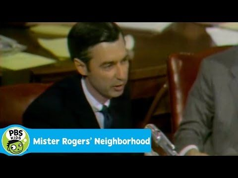 Mister Rogers Neighborhood 1969 Senate Hearing Pbs Kids Youtube Mister Rogers Neighborhood Pbs Kids
