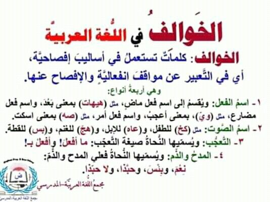 Pin By سنا الحمداني On علم النحو Beautiful Arabic Words Arabic Language Arabic Langauge