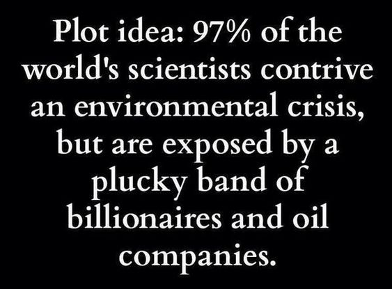 Image result for plucky billionaires vs science