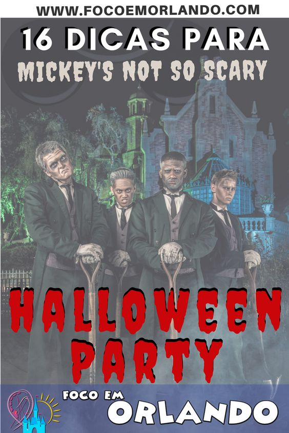 Mickey's Not So Scary Halloween Party - Pinterest
