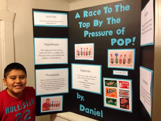 4th grade science fair projects with soda my exploding