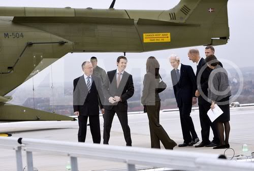 2 November 2007 - Inauguration of New Helipad at Rigshospitalet in Copenhagen