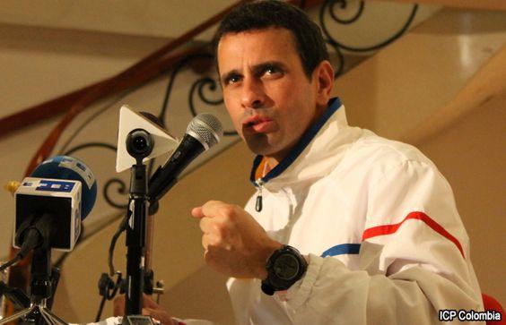 "Capriles no quiso ""lavarle la cara"" a Maduro"