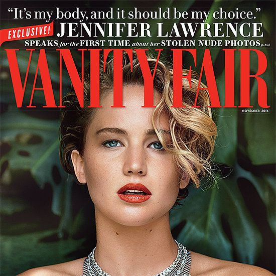 Jennifer Lawrence Breaks Her Silence About the Nude-Photo Hacking Incident