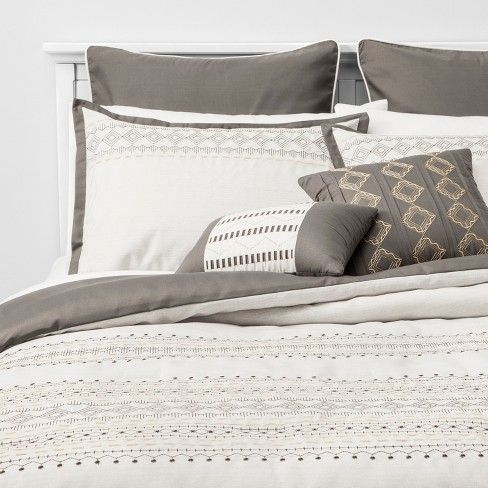 Pin On Master Bedroom Coming Soon, Target Gray Bedding Sets
