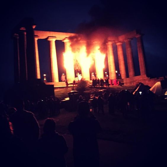 Beltane Fire Festival at Calton Hill in #Edinburgh tonight! Amazing performances and great energy.