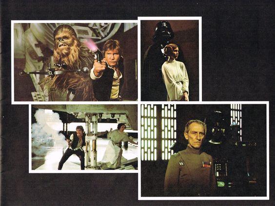 Star Wars original program page 7. Copyright 1977 by Twentieth Century-Fox Film Corporation. All Rights Reserved.