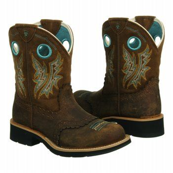 Women's Ariat Fatbaby Cowgirl Powder Brown/Tan Shoes.com | Style ...