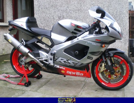2002 Aprilia Rsv 1000 Cool Shit Pinterest