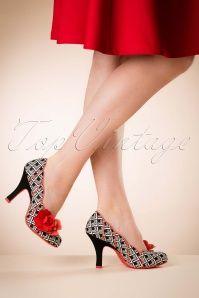 Ruby Shoo April Ladies Shoe Black 400 14 16806 02242016 003W