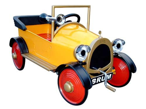 Based On The English Tv Cartoon Brum This Pedal Car Will Delight