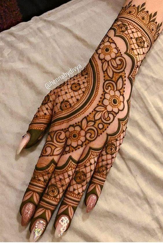 100 Gambar Henna Simple Dan Mudah Terbaik Infobaru