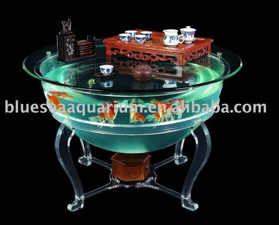 Acrylics Aquarium And Acrylic Coffee Tables On Pinterest