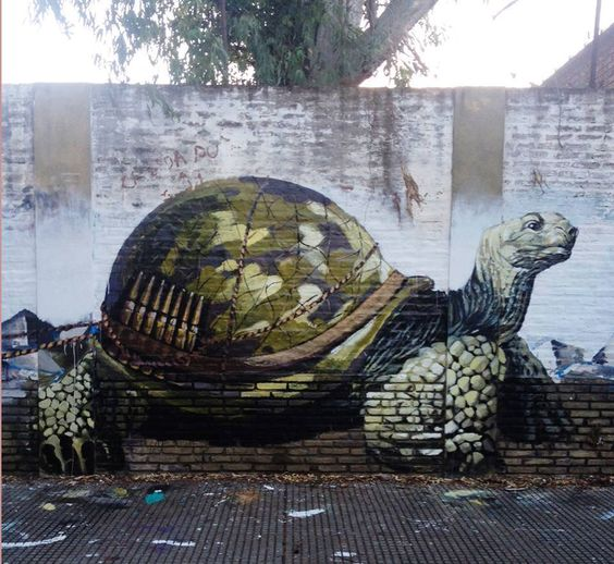 Fintan Magee & Martin Ron Murales - street art. #fintanmagee http://www.widewalls.ch/artist/fintan-magee/