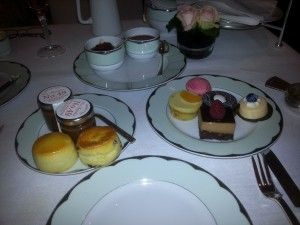 Tea at The Dorchester in London, England. For more on http://teatra.de member @TheDevotea's afternoon there, read his post.