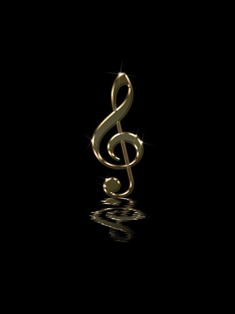 Free Image On Pixabay Musical Note Clef Background Music Images Music Wallpaper Music Artwork