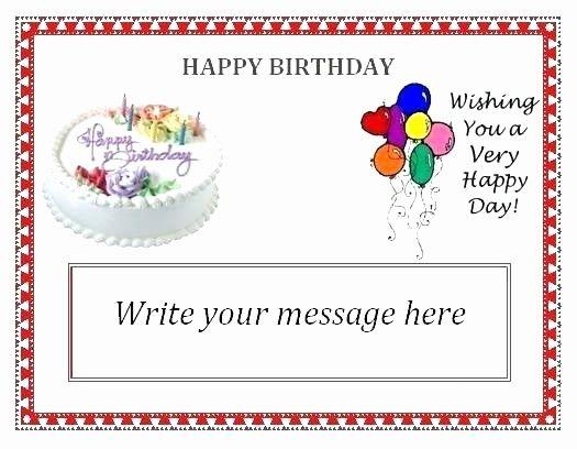 Happy Birthday Card Template Word Beautiful Happy Birthday Word Template Free Card Also E For Greeti Happy Birthday Words Birthday Card Template Birthday Cards