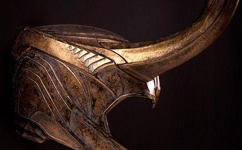 Close Up of Loki's armor