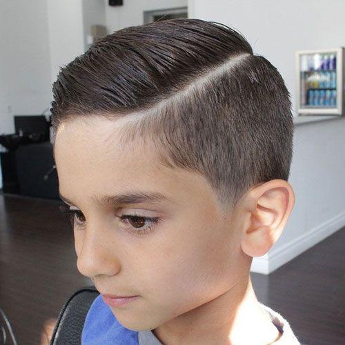 35 Cool Haircuts For Boys 2019