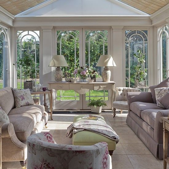 relaxed conservatory style country conservatory design