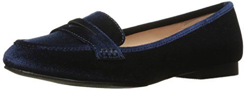 Madden Girl Women's Carm01j1 Slip-on Loafer, Navy Velvet,...