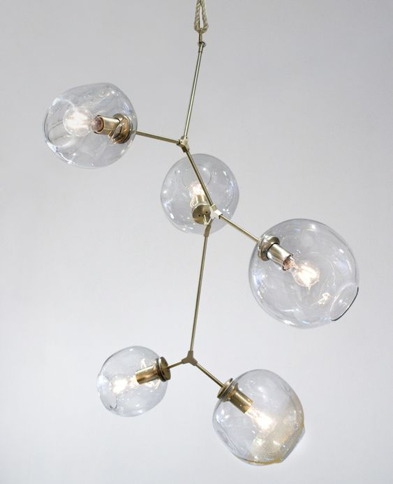 Lindsey Adelman's light fixtures are so fantastic. I hope to some day own one of these!