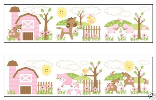 Kids Room Wallpaper Borders   Baby Farm Animal Borders Kids Room Wallpaper  Borders. Kids Room Wallpaper Borders   Visit Chile