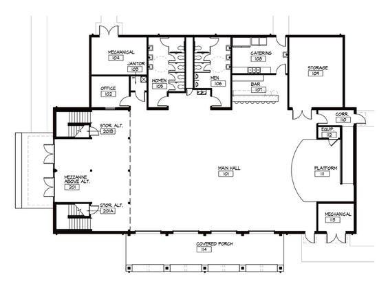 Event Barn Floor Plans The Barn Pugh Auditorium Shorty S